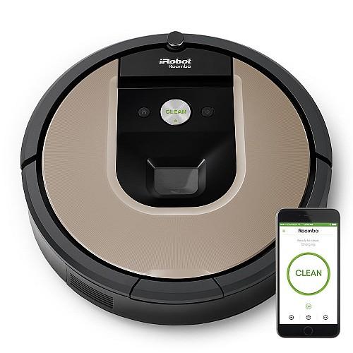 בלתי רגיל שואבי אבק רובוטי מבית IROBOT איירובוט דגם 966 Roomba | שואבים AY-56